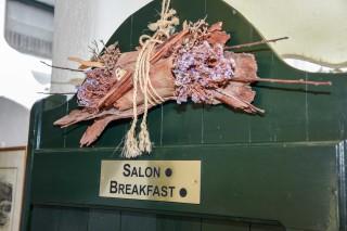 Breakfast salon voreades entrance