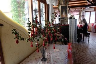 Breakfast salon voreades flowers