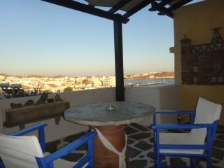 accommodation voreades balcony outdoors