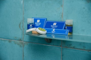 accommodation voreades bathroom amenities