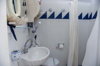 accommodation voreades big bathroom