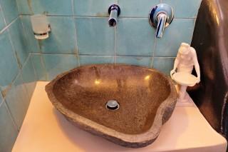 accommodation voreades hotel bathroom sink
