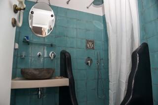 accommodation voreades shower facilities