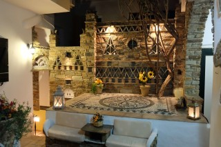 tinos boutique hotel voreades in town